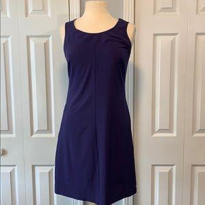 Columbia purple Omni-wick sleeveless dress